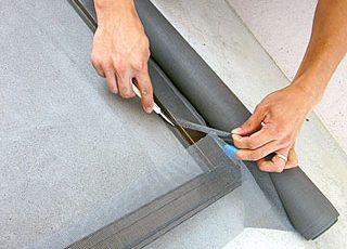 網戸とふすま張り替え方法